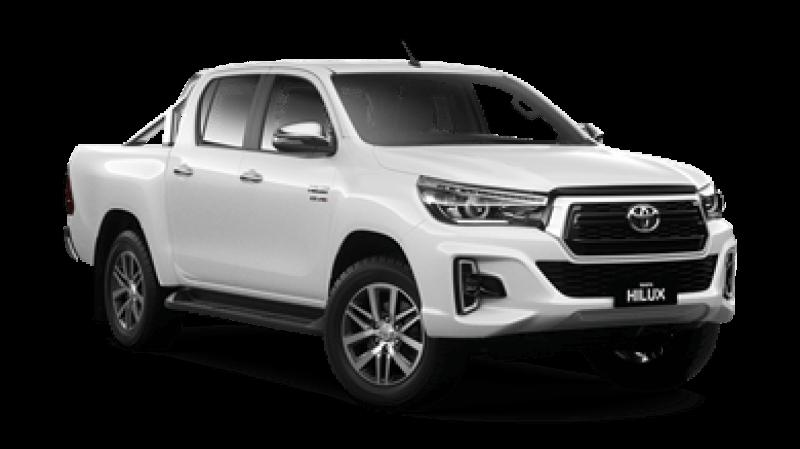 New Model White Toyota Hilux SR5 Dual Cab